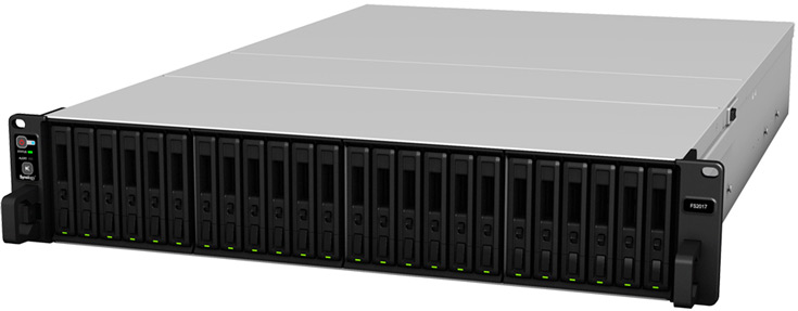 В конфигурацию NAS Synology FlashStation FS2017 входит процессор Intel Xeon D-1541