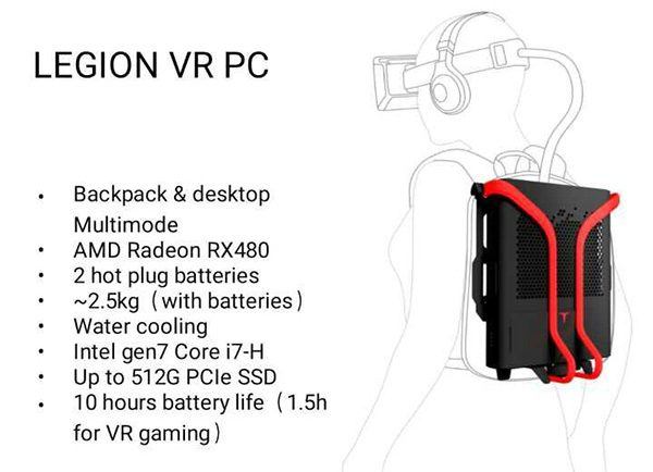 Lenovo Legion VR PC