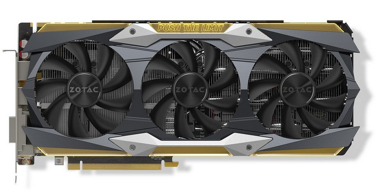 Zotac представила карту GeForce GTX 1080 Ti AMP Extreme Core Edition