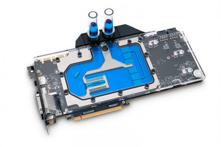 EK Water Blocks представила водоблок EK-FC1080 GTX Ti FTW3