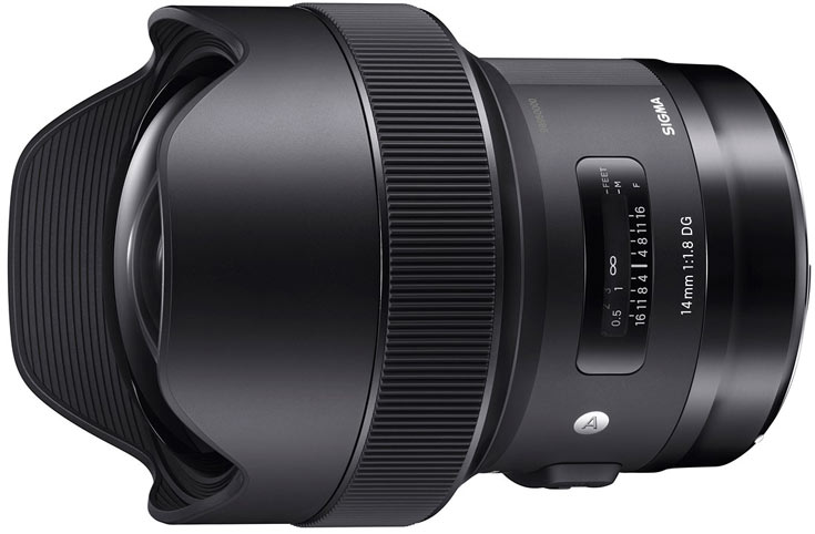 Объектив Sigma 14mm F1.8 DG HSM Art будет выпускаться в вариантах для камер Canon, Nikon и Sigma