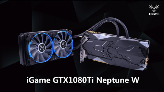 Конфигурация Colorful iGame GTX 1080 Ti Neptune W включает 3584 ядра CUDA