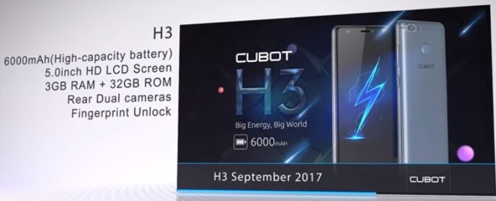 Cubot, планы на осень: Note Plus, King Kong, Cubot H3 и Cubot X18 Plus