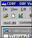 CDBF - DBF Viewer and Editor 1.30