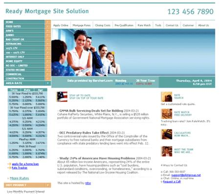 Mortgage Site Solution 3.9.04