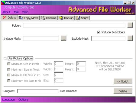 Advanced File Worker 2.0
