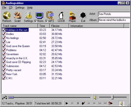 Audiograbber 1.83 Special Edition