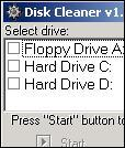 Disk cleaner 1.4 beta 2