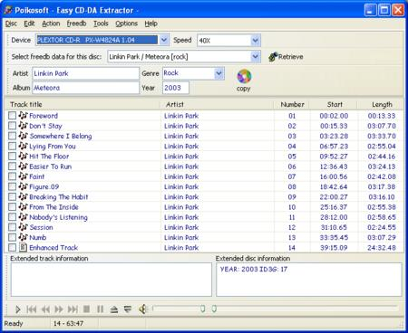 Easy CD-DA Extractor 9.0.1