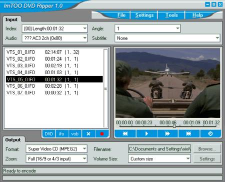 ImTOO DVD Ripper 2.0.52.823