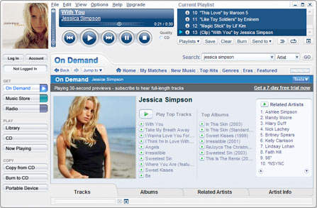 MusicMatch Jukebox 10.00.4015c