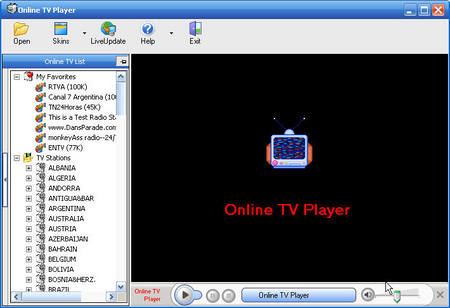 Online TV Player 2.8