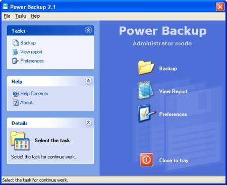 Power Backup 2.0