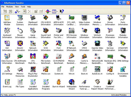 SiSoft Sandra 2005 SR2.a v.7.10.60 all