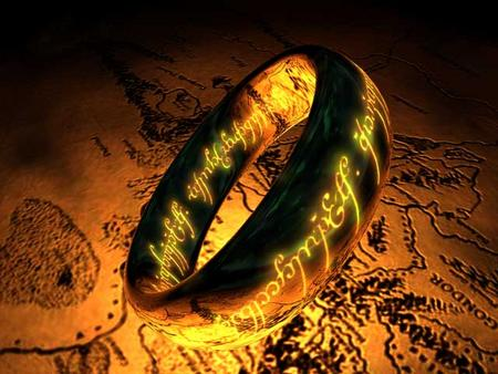 The One Ring Screensaver 1.0