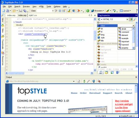 TopStyle Pro 3.10