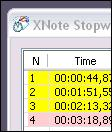 XNote Stopwatch 1.37